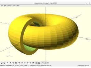 Parametric spiral generator