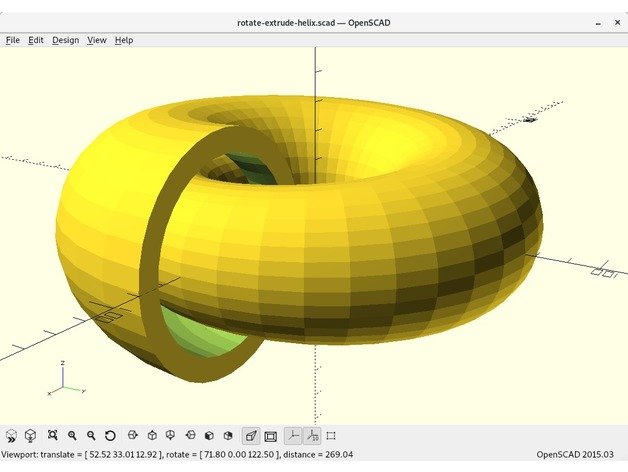 Parametric spiral generator by acwest - Thingiverse