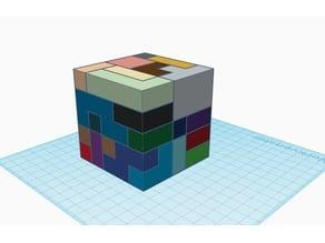5x5 Cube Puzzle