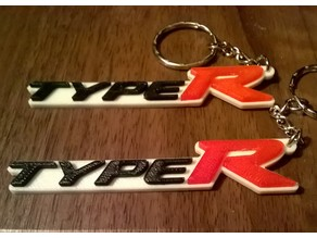 Honda Civic Type-R Keyring / Keyfob / Bag Charm