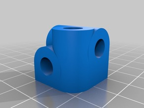 "6mm, 1/4"" 3-Axis Block"