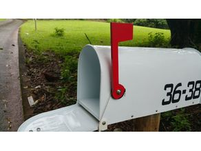 US Mail Box Auto Flag