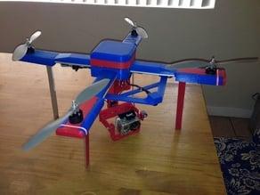 Autonomous Drone - Quadcopter - (LiteCeptor) APM 2.5 Model