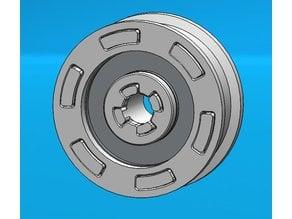 Pulley belt GT2 bearing 608ZZ