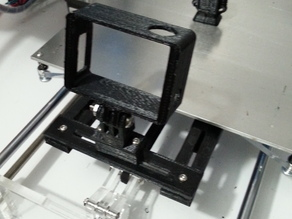 Prusa I3 GoPro Timelapse Support Arms