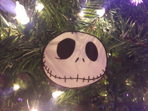 Jack Skellington Christmas Ornament