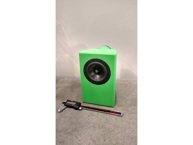 Speaker Enclosure Dayton RS100 by Emotiva - Thingiverse
