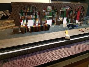 Wooden Fence / Çit-diorama