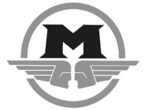Monogramme M /porte clé