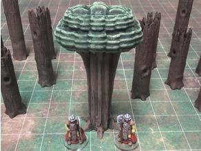 ScatterBlocks: Tree (28mm/Heroic scale)