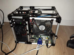 Mini-ITX NAS Open Frame