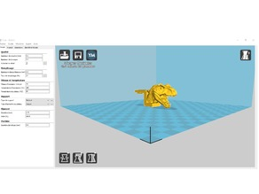 anet am8 filament guide T-Rex