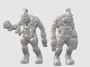 Thantoan Researchers (28mm/32mm scale)