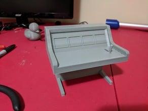 RC 1/10 Scale Garage Dyno Console