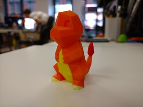 Color Low-Poly Charmander