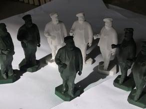 Pau Farinetes statue