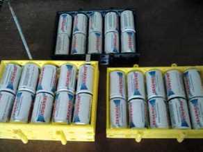 NiMH 12V D Cell Battery Holder