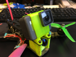 Yet Another GoPro Hero 5/6/7 Black Mount for the ImpulseRC Reverb 20/25/30/35/40/45 Degrees