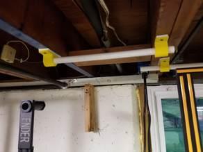 """Quick 3/4"""" PVC Spool hanger"""