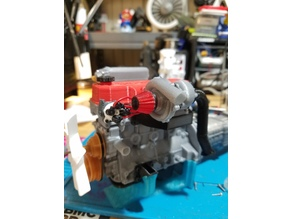 1/10 Scale 22re turbo kit