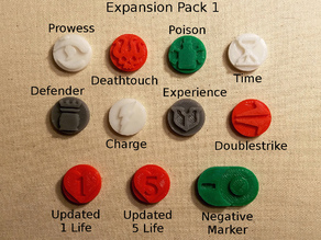 Magic: The Gathering Counters, Expansion Pack 1, MtG #MtGCounters