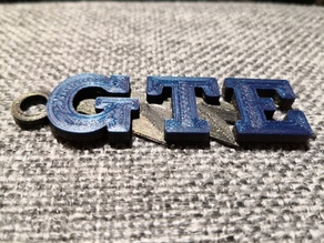 VW GTE keychain