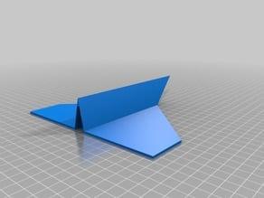 Reusable paper plane