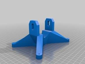 Build platform arm set for Termin8tor DLP 3D printer