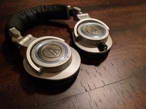 Audio Technica ATH-M50s Removable Cable Mod Housing