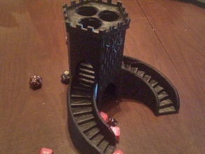 Three-path Dice Tower