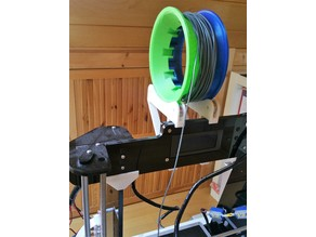 Spool for filament samples