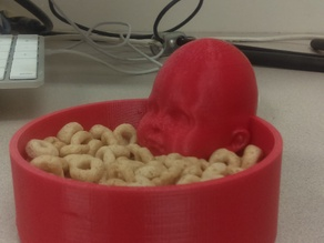 Baby creepy candy bowl yay