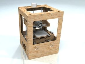 Thing-O-Matic 3D model (STEP)
