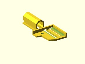 Extruder cable mount