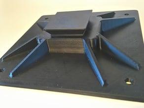 Big mounting plate for Velbon tripod