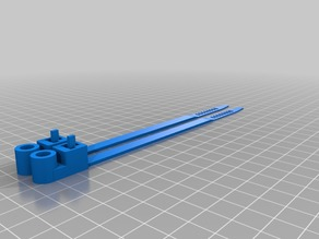 2 cable ties with screw holes