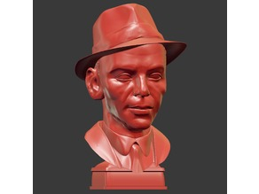 Frank Sinatra bust
