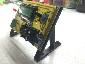 Customizable PCB angle holder