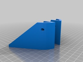 Anycubic Kossel Pulley Ver brace / stepper cover.
