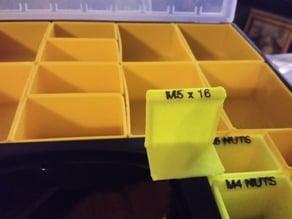 Organizer Tray / Box for Harbor Freight organizer