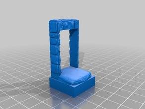 OpenForge 1x1 Small Door tile