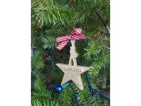 Hamilton Christmas Ornament or Earrings