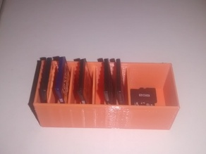 Caja para Tarjetas SD y micro SD