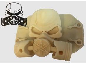 Yamaha skull