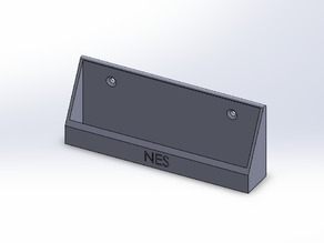 NES controller wall mount