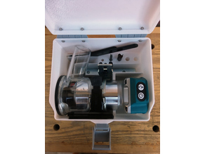 Tool box for a Makita Router (DRT 50Z)
