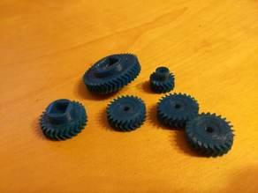 Roomba 500 herringbone gears