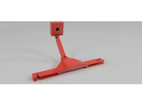 Ender 3 Raspberry Pi Camera Bed Adjustable Mount