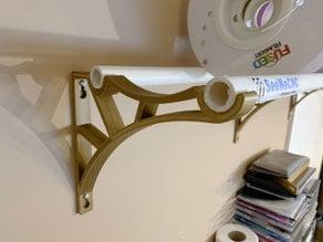 Filament Spool Shelf Bracket