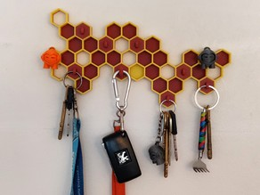 Magnetic Beehive Key Holder